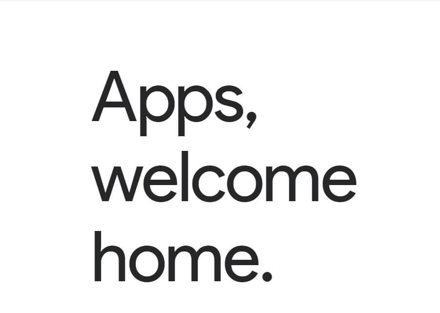 دامنه app گوگل طراحی سایت