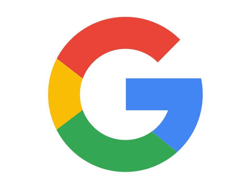 لوگو گوگل طراحی سایت